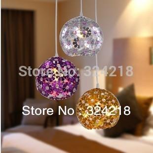 Lighting modern brief applique aluminum pendant light bedroom lamp , aluminum pendant light fixtures bar lights dining room