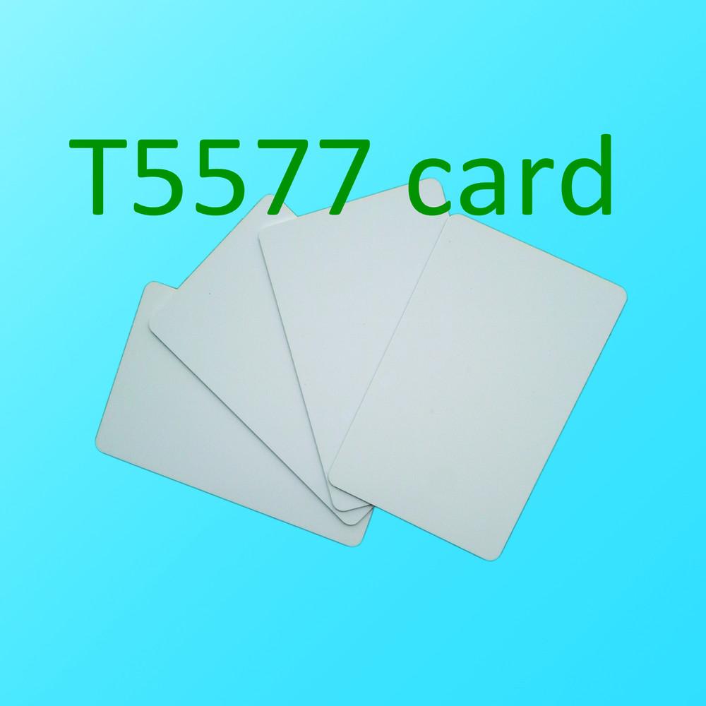 10pcs RFID 125KHz Writable Rewrite T5577/T5567/T5557card Proximity Access card(China (Mainland))