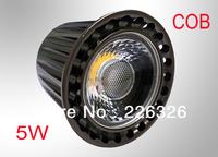 Free shipping(10PCS/lot)  5W GU10 COB chip led AC100~250V White /Warm white LED Bulb Light Spot Light LED Light Lamp