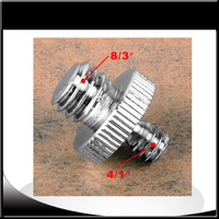 """Hot 10pcs 1/4"""" Male Threaded to 3/8"""" Male Threaded screw Adapter"""