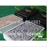 Free shipping! Super Price 2 Decks ROYAL 100% Plastic Playing Cards(55pics each) JUMBO