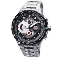 2014 Special Offer Top Fasion Hot! Casima 8205 Sports Watch 100 Meters Waterproof Stainless Steel Strap Quartz Men Wristwatches