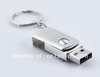 Wholesale metal rotating usb mini 64 g, classic style usb U disk free postage