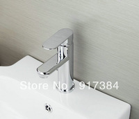 Hot Brightly Bathroom Basin & Kitchen Single Hole Sink  Faucet Mixer Tap Chrome  JN8307A