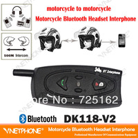 Motocycle Helmet Intercom Wireless Bluetooth Intercom Handsfree Bluetooth Interphone 500M 2-Way