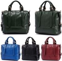 2013 spring and summer lady's handbag, high-grade imitation oil skin PU leather shoulder messenger bag wholesale, free shipping