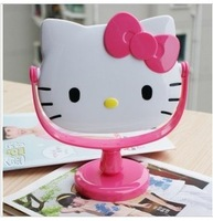 Free shipping HELLO KITTY cute beauty fashion mirror head mirror