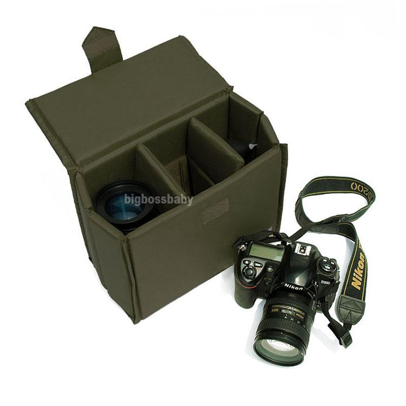 Сумка для видеокамеры Caden DSLR Canon 600D 60D 70D 7D 5D Nikon D90 D5100 D7000 A2 A2-Insert