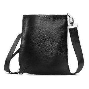 2014 Selling new men messenger bags authentic leather men's bags fashion business casual shoulder bag inclined bag