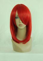 Free shipping Popular 45cm Medium Black Butler-MADAME ROUGE Synthetic Hair medium red cosplay wig