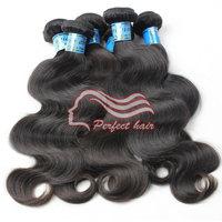 Mix length unprocessed virgin peruvian hair body wave 3pc/lot cheap peruvain hair extension tangle free