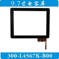 Free shipping Outside the 9.7 inch tablet PC capacitive touch screen panel by hand touch screen no. 300 - L4567K - B00
