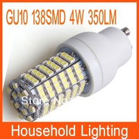 GU10 138 SMD 3528 4W 220V LED Light Bulb Lamp Warm/Cool White Free Shipping 80929 80930