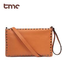 TMC 2013 Women's Handbag Fashion Motorcycle Rivet Envelope Bag One Shoulder Cross-Body Day Clutch YL244