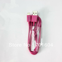colorful Color USB Data Cable for iphone5 with CE,free shipping