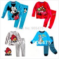 Baby sleepwear Baby girl White Minnie pajamas Children Pyjamas Children Sleepwear clothing set sports