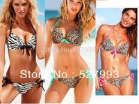 biquini 2014 hot sale printing push up bikini , swimwear swimsuit monokini bathing suit top for women 3 colors