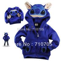 Free Shipping Children's Apparel boys Jackets Girl jacket 100% cotton