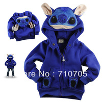 Free Shipping Children's Apparel boys Jackets Girl jacket 100% cotton