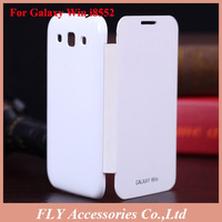 1pcs Freeship Galaxy Win covers, Smart sleep leather case For Samsung Galaxy Win I8552