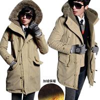 Free shipping JVR 2013 new men's warm winter coat Slim Korean men thick padded tide men's jackets