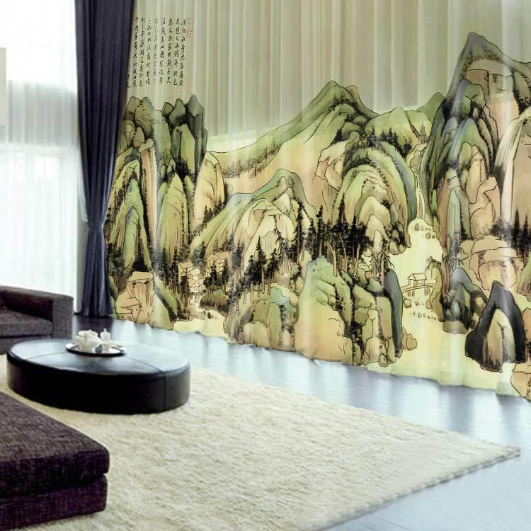 sch ne vorh nge f r wohnzimmer ma geschneiderte vorh nge. Black Bedroom Furniture Sets. Home Design Ideas
