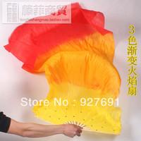 Special offer wholesale dance props hand fan1.8 meters long silk dancing fan