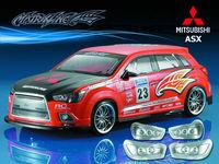 Stm-racing  MITSUBISHI ASX PC BODY SHELL  PC201024  1:10 eletronic touring car  190mm