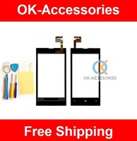 Over 5PCS US $6.2 /Piece Touch Screen Digitizer For Nokia Lumia 520 N520 Screen Protector+Tools 1PCS / Lot Free Shipping