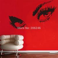 ZooYoo Wall Sticker 8024 Audrey Hepburn 's Eyes /Vinyl Wall Decals / Waterproof Window Car/Home Decor