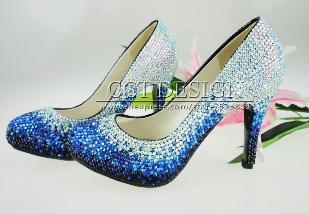 Royal Blue Wedges Shoes Royal Blue Wedding Shoes
