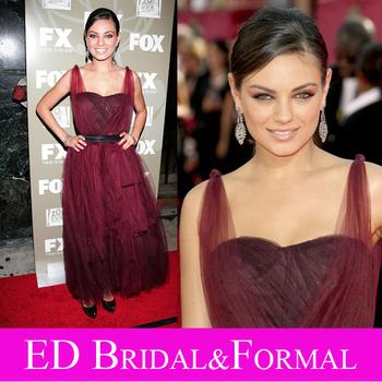 Kleid roten teppich promi kleid knöchellänge tüll abendkleid