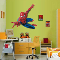 Amazing Large Super Spider-man Wall Decals Kids Boys Room Decor Wall Stickers