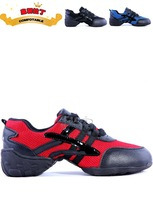 2014 New Modern dance shoes  sansha p29 jazz shoes Dancing wear black red and blue women  dance shoes