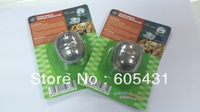"""Tea Leaf Ball Herb Spice strainless Infuser  Strainer Sieve Stainless Steel chain 6"""" L"""