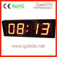 ali express/aliexpress Ganxin 3 inch 4 led digital gym sports countdown clocks