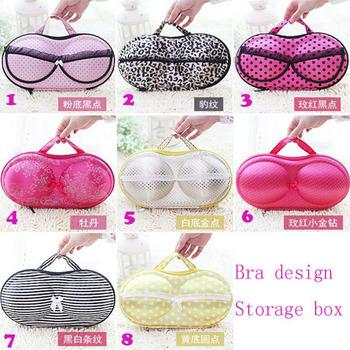 BF090 Hot Portable /travel underwear bra storage bag underwear storage box bra design 32*16.5*6CM free shipping