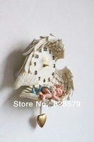 Sleeping Angel BB Clock, Resin Wall Clock