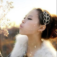 Min$10(mix order) Fashion Unique Crystal Alice Hair band Leaf Headbands for Promotion Girl Hair Accessory HA01338 Free Shipping