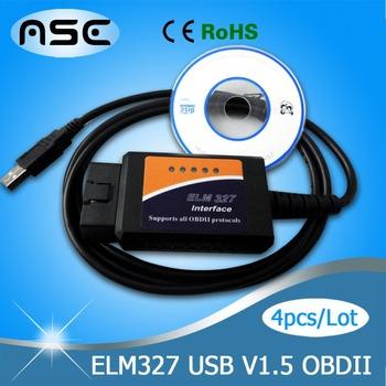 Hot Selling OBDII ELM327 UBS Mini Car Diagnostic Interface Diagnostic Tool ELM327 OBD2 Car Reader Car Scan Tool