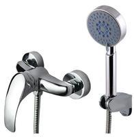Copper shower set simple shower faucet function shower mixing valve