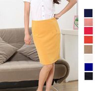 S 3XL / 9 Colors Women's Skirts Formal 2013 New Fashion Business Pencil Sexy Slim Hip Skirt Vocational OL Plus Size Women Skirt
