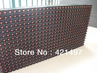 Low price! Waterproof P10 outdoor Red Color /1R  LED display moudle/Unit 320mm*160mm with high brightness