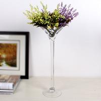 4 SIZE OPTION Dining table decoration transparent glass vase modern brief vase tall bar counter long vase