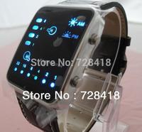 Hot Sales Innovative Watch Fashion Watch Fashion Fabulous Binary System Digital Watch Sport Gift Watch Free+Drop Shipping