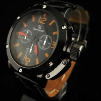 Free shipping! New fashion luxury brand watches, men's sports watches, leather military watches, quartz watches punk