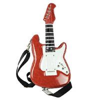 Amliya Simulation 3D Guitar Shape Women's Messenger Bag Street Personality Offbeat Idea Fashion Handbags 3 Colors 2014