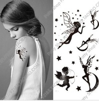 Water Proof 2014 Sale Henna Tattoo Free Shipping Waterproof Stickers Hot-selling Combination Fake Makeup New Design Beauty