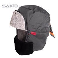 1PCS Santo Men Women Outdoor Hat  Ear Protector Cap Windproof  Warm Snow Hat Ride  Color:Black/Dark Grey/Red/Blue/Army Green