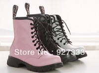 Martin boots comfortable casual cross straps boots plus size boots px 9 genuine leather dr martins